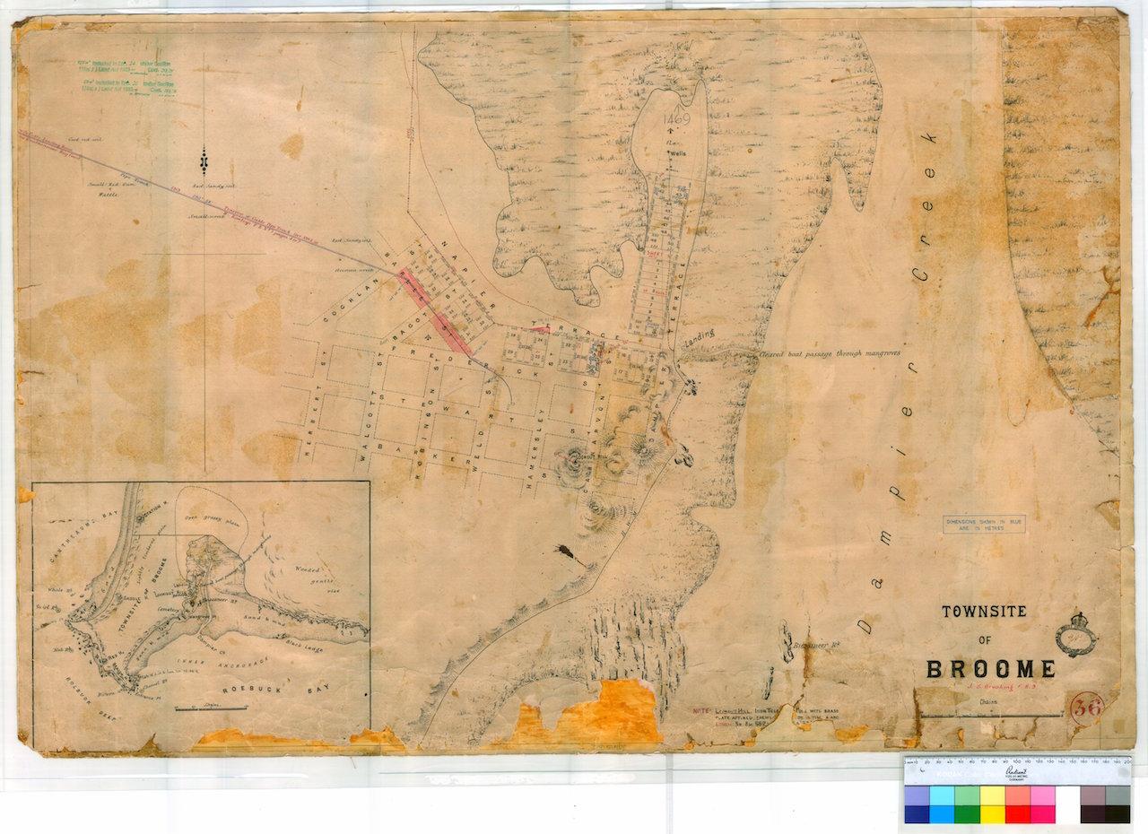 Australia Map 1850.Fitzroy River 1850 Datasets Data Wa Gov Au