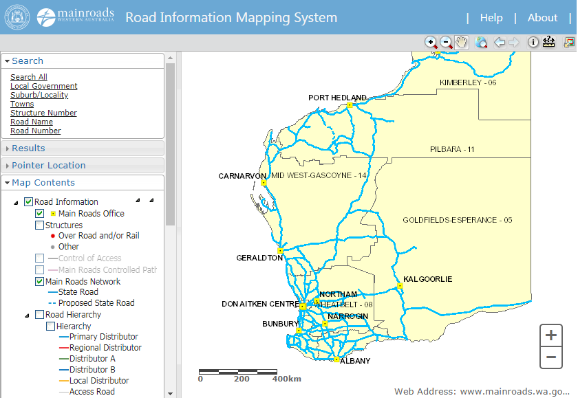 road-information-mapping-system