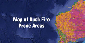 Map of Bush Fire Prone Areas